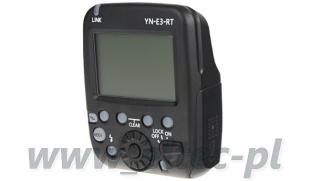 Wyzwalacz radiowy Yongnuo, model YN-E3-RT do Canon RT