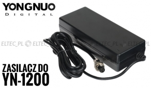 Zasilacz sieciowy do lamp YONGNUO YN-1200, YN-760