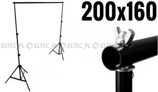 Zestaw do zawieszania teł (2x statyw 200cm + składana belka 160cm)
