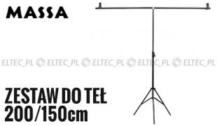 Zestaw do teł typ T 200/150cm