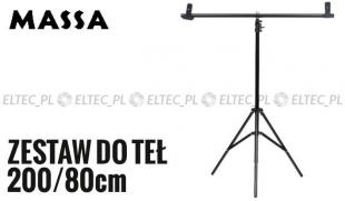 Zestaw do teł typ T 200/80cm