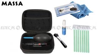 Zestaw akcesoriów C1 10w1: delux, lenspen, futerał, szpatułki
